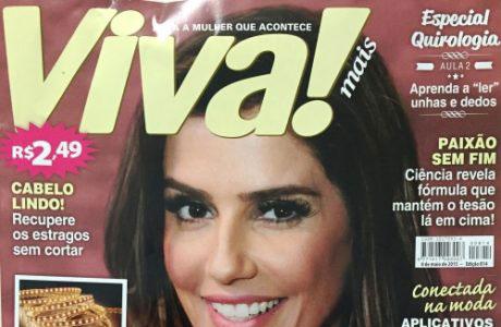 Entrevistado sobre aftas – Revista Viva Mais